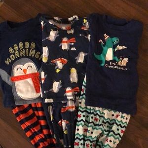 18 mth winter PJs